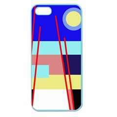 Abstract landscape Apple Seamless iPhone 5 Case (Color)