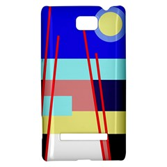 Abstract landscape HTC 8S Hardshell Case