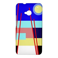 Abstract landscape HTC One M7 Hardshell Case