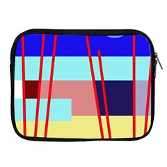 Abstract landscape Apple iPad 2/3/4 Zipper Cases