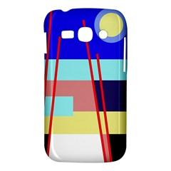 Abstract landscape Samsung Galaxy Ace 3 S7272 Hardshell Case