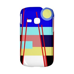 Abstract landscape Samsung Galaxy S6310 Hardshell Case