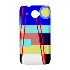 Abstract landscape HTC Desire 601 Hardshell Case