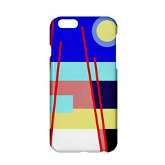 Abstract landscape Apple iPhone 6/6S Hardshell Case