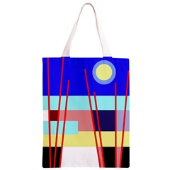 Abstract landscape Classic Light Tote Bag