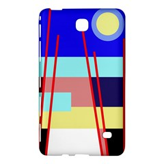 Abstract landscape Samsung Galaxy Tab 4 (8 ) Hardshell Case