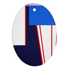 Decorative abstraction Ornament (Oval)