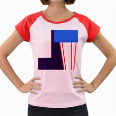 Decorative abstraction Women s Cap Sleeve T-Shirt