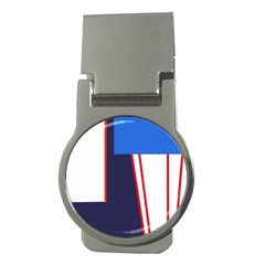 Decorative abstraction Money Clips (Round)