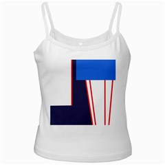 Decorative abstraction Ladies Camisoles