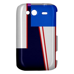 Decorative abstraction HTC Wildfire S A510e Hardshell Case