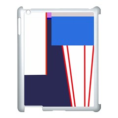 Decorative abstraction Apple iPad 3/4 Case (White)