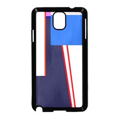 Decorative abstraction Samsung Galaxy Note 3 Neo Hardshell Case (Black)