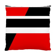 Red, white and black abstraction Standard Cushion Case (One Side)
