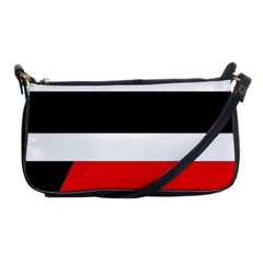 Red, white and black abstraction Shoulder Clutch Bags