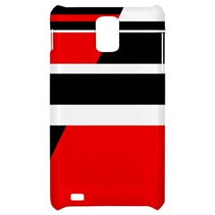 Red, white and black abstraction Samsung Infuse 4G Hardshell Case