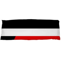 Red, white and black abstraction Body Pillow Case (Dakimakura)