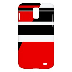 Red, white and black abstraction Samsung Galaxy S II Skyrocket Hardshell Case
