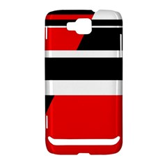 Red, white and black abstraction Samsung Ativ S i8750 Hardshell Case