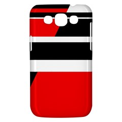 Red, white and black abstraction Samsung Galaxy Win I8550 Hardshell Case