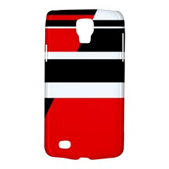 Red, white and black abstraction Galaxy S4 Active