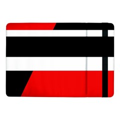 Red, white and black abstraction Samsung Galaxy Tab Pro 10.1  Flip Case