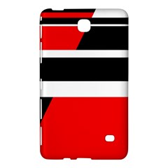 Red, white and black abstraction Samsung Galaxy Tab 4 (7 ) Hardshell Case