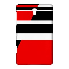 Red, white and black abstraction Samsung Galaxy Tab S (8.4 ) Hardshell Case