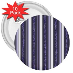 Elegant lines 3  Buttons (10 pack)