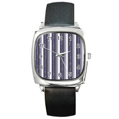 Elegant lines Square Metal Watch