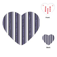 Elegant lines Playing Cards (Heart)