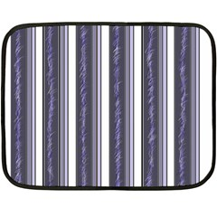 Elegant lines Fleece Blanket (Mini)
