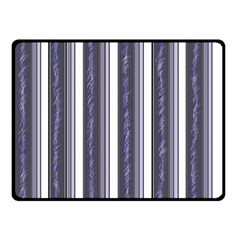 Elegant lines Double Sided Fleece Blanket (Small)