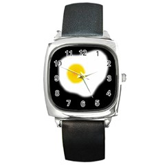 Egg Square Metal Watch