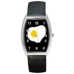 Egg Barrel Style Metal Watch