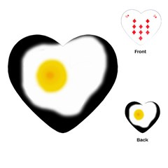 Egg Playing Cards (Heart)