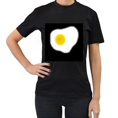 Egg Women s T-Shirt (Black)