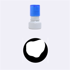 Egg Rubber Round Stamps (Small)