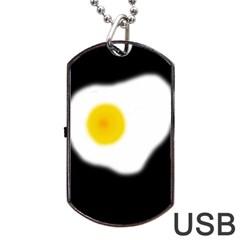 Egg Dog Tag USB Flash (One Side)