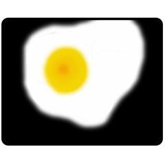 Egg Double Sided Fleece Blanket (Medium)