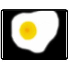 Egg Double Sided Fleece Blanket (Large)