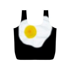 Egg Full Print Recycle Bags (S)