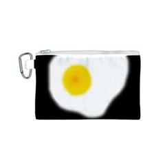 Egg Canvas Cosmetic Bag (S)