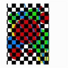 colorful abstraction Small Garden Flag (Two Sides)