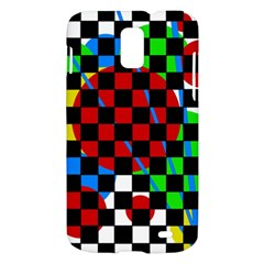 colorful abstraction Samsung Galaxy S II Skyrocket Hardshell Case