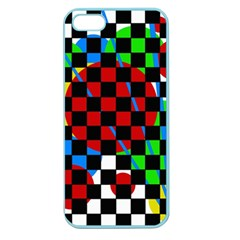 colorful abstraction Apple Seamless iPhone 5 Case (Color)