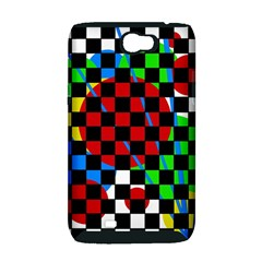 colorful abstraction Samsung Galaxy Note 2 Hardshell Case (PC+Silicone)