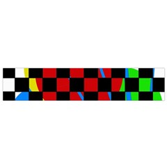 colorful abstraction Flano Scarf (Small)