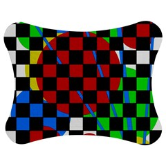colorful abstraction Jigsaw Puzzle Photo Stand (Bow)