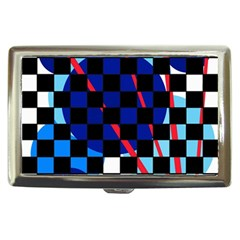 Blue abstraction Cigarette Money Cases